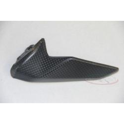 Protection inferieure de chaine carbone, dent de requin, Ducati 899, 1199 Panigale 12-14