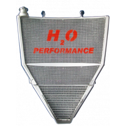 Radiateur d'eau et d'huile grande capacité R6 2008-2016 H2O Performance