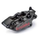 Paire d'étriers de frein axiaux taillés masse assemblés SBK BREMBO P4 30/34 40 mm