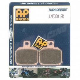 Plaquettes de freins arrière AP RACING SR route métal fritté 848, 1098, 1198 2008-2013 RSV4 2009-2018