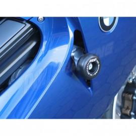 Tampons de protection GSG MOTO F800 ST avec platines de déport 2006-2012