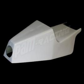 Coque arrière fibre de verre avec découpage pour les feux F1 750 cm3 1985-1988