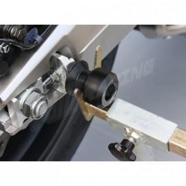 Supports de base pour diabolos support béquille 8 mm GSG MOTO CB650 F, CBR650F, CB650R, CBR650R