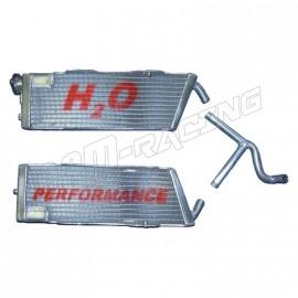 Radiateurs d'eau grande capacité H2O performance KTM Supermotard 570