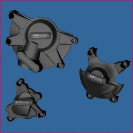 Kit de 3 protections de carter GB Racing R1 09-14