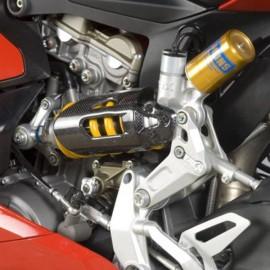 Protection d'amortisseur arrière carbone R&G Racing Ducati 899, 959, 1199, 1299 Panigale