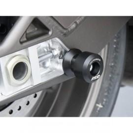 Diabolos support béquille 8 mm GSG MOTO S1000RR, HP4, S1000R plastique noir