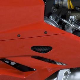Slider moteur gauche carbone R&G Racing 899, 1199, 1299 Panigale