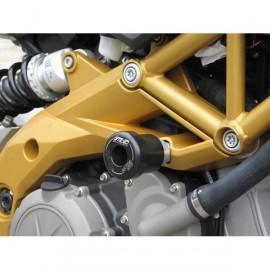 Tampons de protection GSG MOTO SL 750 Shiver 2007-2014