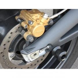 Diabolos support béquille 6 mm GSG MOTO Street Triple 675/R 2007-2012 plastique noir