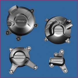 Kit de 4 protections de carter GB Racing MT-09, Tracer, FZ-09, Scrambler, XSR 900 2014-2018