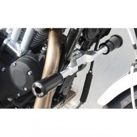 Tampons de protection avant les tubes de cadres GSG MOTO XR 1200, IRON 883 2017