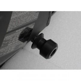Diabolos support béquille 10 mm GSG MOTO ZX 10R 2008-2010 plastique Noir