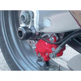 Diabolos support béquille 10 mm GSG MOTO ZX 6R, ZX 636 2003-2004 plastique Noir