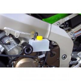Tampons de protection avec réservoir liquide refroidissement GSG MOTO ZX 6R 1995-1997