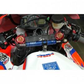 Amortisseur de direction racing ou route position origine TOBY CBR600RR 2007-2012