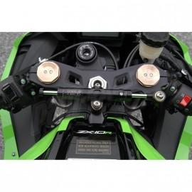 Amortisseur de direction racing ou route position origine TOBY ZX10R 2011-2021