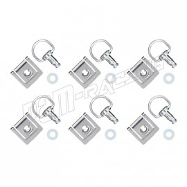 Lot de 6 DZEUS à clipser complet 12 mm