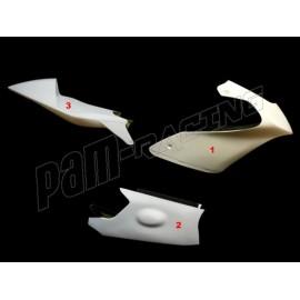 Carénage poly complet 3 parties fibre de verre MOTO3 Honda NSF 250R MOTOFORZA