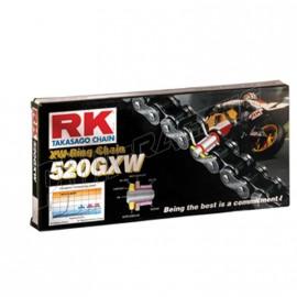Chaine RK 520GXW XW'Ring Ultra renforcée acier