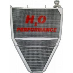 Radiateur d'eau et d'huile grande capacité Daytona 675 2013-2016 H2O Performance