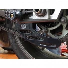 Protection de chaine en aluminium R&G Racing 675 Daytona, Street Triple 2013-2016