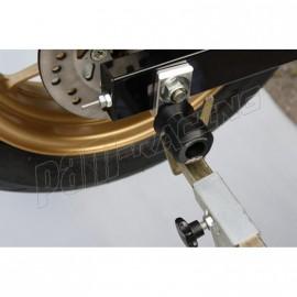 Support de base pour diabolos support béquille 8 mm GSG MOTO MSX 125 2015-2018