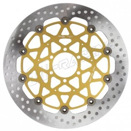 Pack 2 disques de frein racing HPK Supersport 320 mm ZX6R, ZX10R, Z800, ZX14R BREMBO