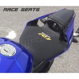 Selle base carbone Street Neoprene Line RACESEATS R1 2015-2018