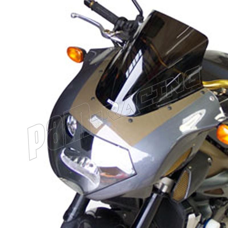 BULLE RACING PUIG POUR APRILIA TUONO 1000R ANNEE 2008 COULEUR FUME/' CLAIR.