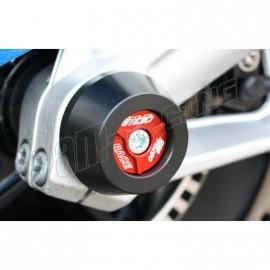 Protections de fourche GSG MOTO S1000RR, HP4, S1000R avec insert aluminium couleur