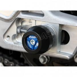 Protections de bras oscillant GSG MOTO S1000RR, HP4, S1000R, S1000XR avec insert aluminium couleur