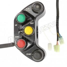 Commodo racing droit R1 2015-2020 Plug & Play Carraro Engineering