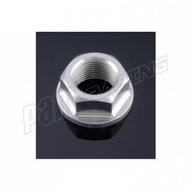 Écrou d'axe de bras oscillant en aluminium anodisé taillé masse M20 x 1,5 LIGHTECH