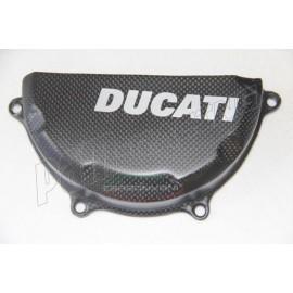 Protection de carter d'embrayage carbone CARBONVANI Ducati 899, 1199 Panigale 12-14