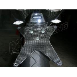 Support de plaque (sans eclairage)CARBONVANI Ducati 848 / 1098 /1198