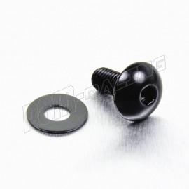 Vis à tête bombée aluminium M5 pas 0.8 mm PRO-BOLT