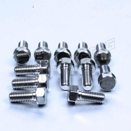 Kit 12 Vis de disques de frein avant titane APRILIA PRO-BOLT