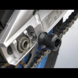 Diabolos support béquille 8 mm GSG MOTO MZ 1000S, MZ 1000SF plastique noir
