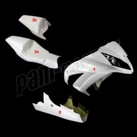 Carénage poly endurance 3 parties fibre de verre ZX10R 2011-2015 MOTOFORZA