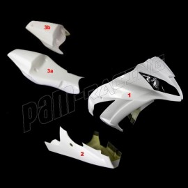 Carénage poly endurance 3 parties fibre de verre ZX10R 2011-2015