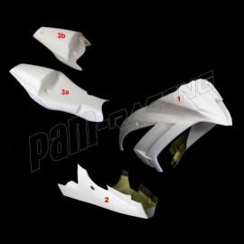 Carénage poly complet 3 parties fibre de verre ZX10R 2011-2015 MOTOFORZA