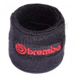 Chaussette de bocal de frein brodée 5x7 cm Brembo