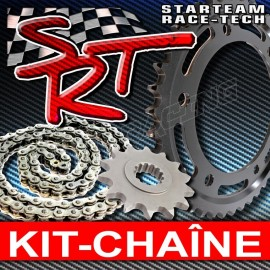 Kit chaine 525 acier S1000RR 2015-2017, S1000R 2014-2017 Chaine RK ou AFAM + SRT Sprockets