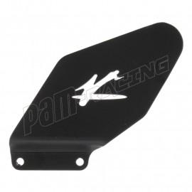 Protège talon aluminium côté gauche Valter Moto