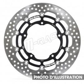 Disque de frein racing flottant Halo 310 mm ep 5.5 mm R1 2007-2011, R6 2005-2016, FZ-8, Super Ténéré Moto-Master