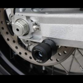 Diabolos support béquille M10 GSG MOTO 690 SMC, 950/R Supermoto, 990 Superduke/R, 990 Supermoto/R/T plastique noir