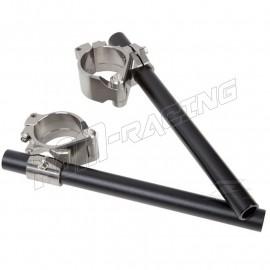 Bracelets et demi-guidons racing 6 ou 9 degrés 50 mm ZETA Racing