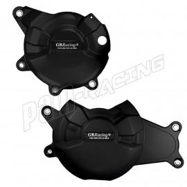 Kit de 2 protections de carter GB Racing MT-07, XSR 700, Ténéré 700, Tracer 700 2014-2021