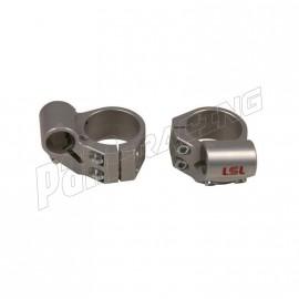 Bracelets de guidon racing 4° position intermédiaire +20 mm LSL diamètre 43 mm